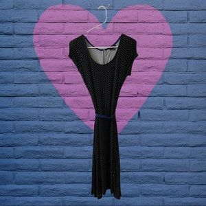 The Limited Polka Dot A-Line Dress size XS